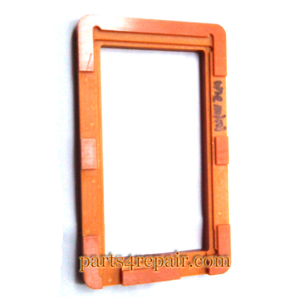 UV Glue (LOCA) Alignment Mould for HTC One mini LCD Glass from www.parts4repair.com