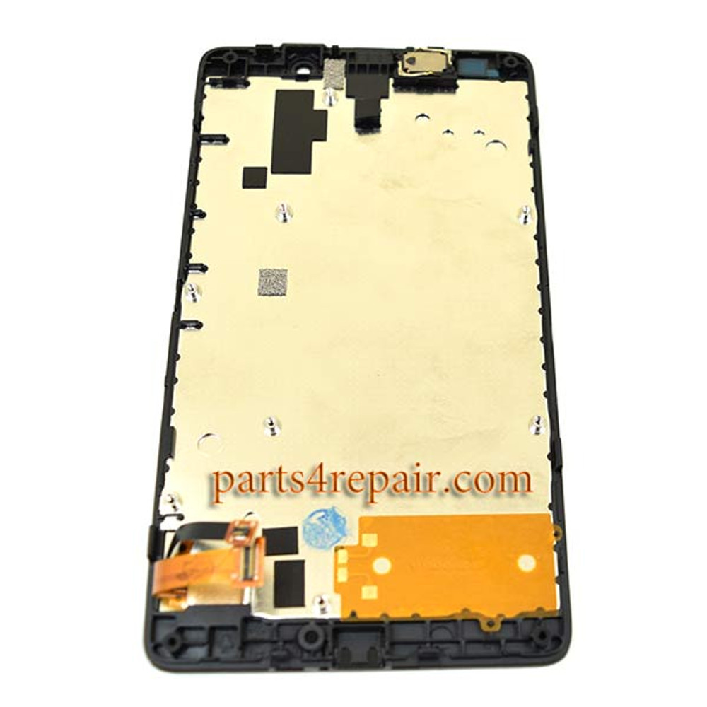 We can offer Complete Screen Assembly with Bezel for Nokia Lumia XL