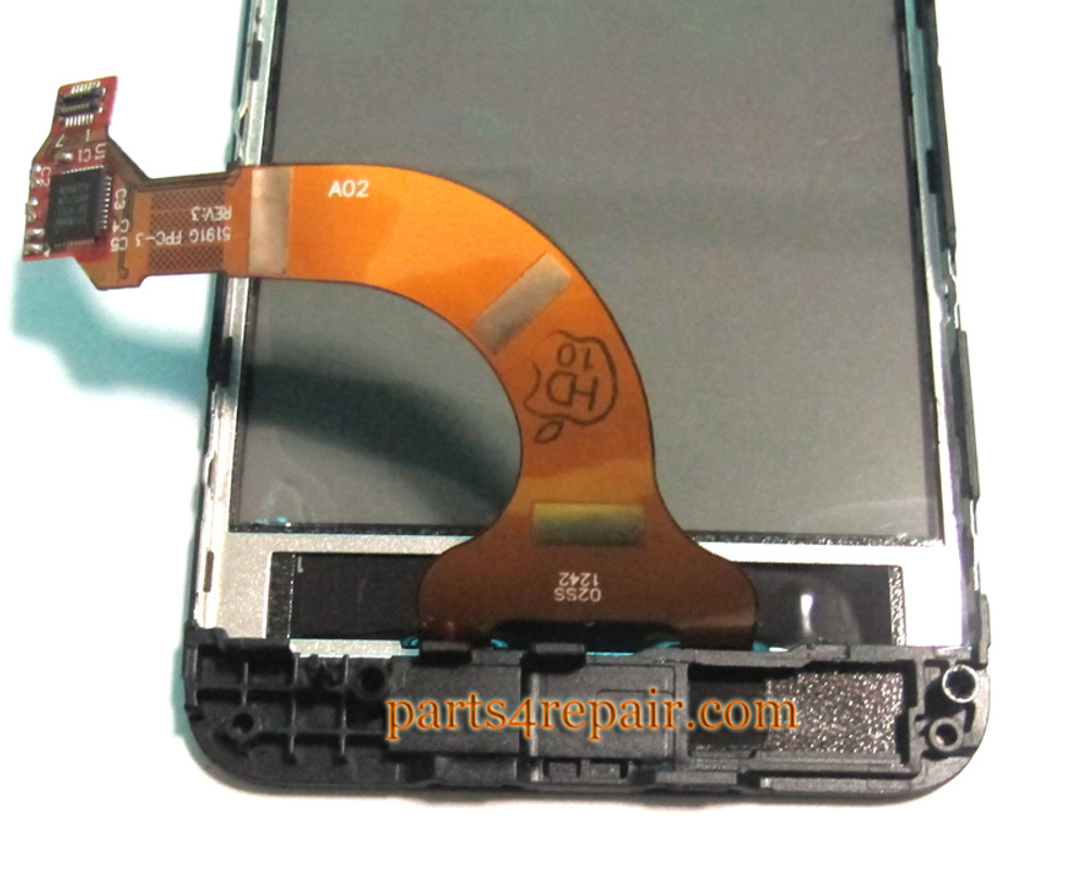 Touch Screen with Bezel OEM for Nokia Lumia 620