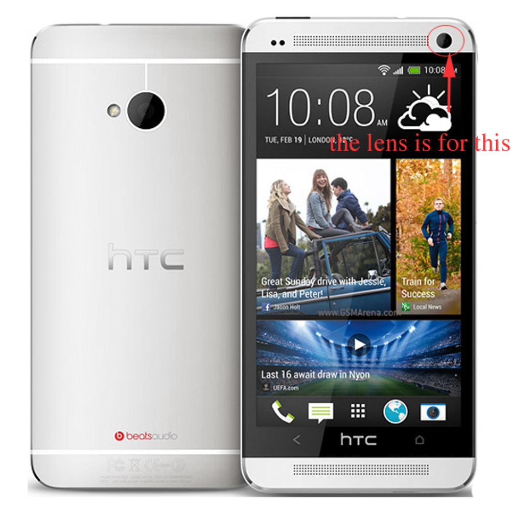 We can offer Camera Lens of Top Glass Cover for HTC One M7
