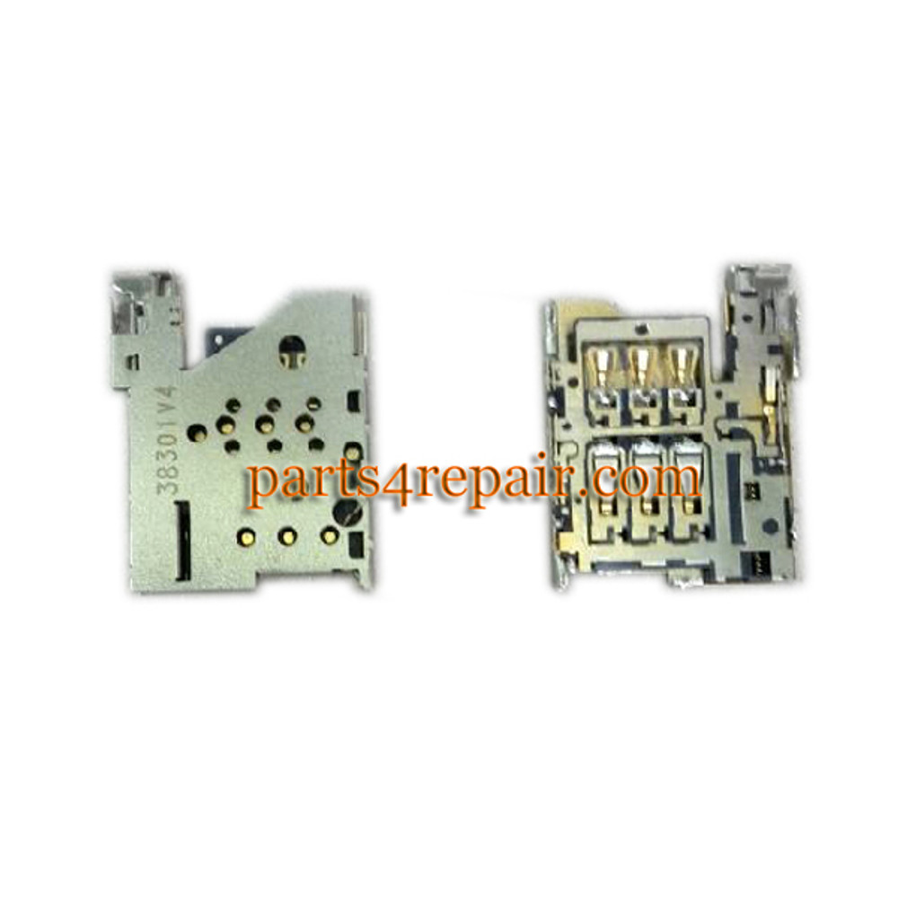 SIM Contact Connector for Nokia Lumia 1520 from www.parts4repair.com