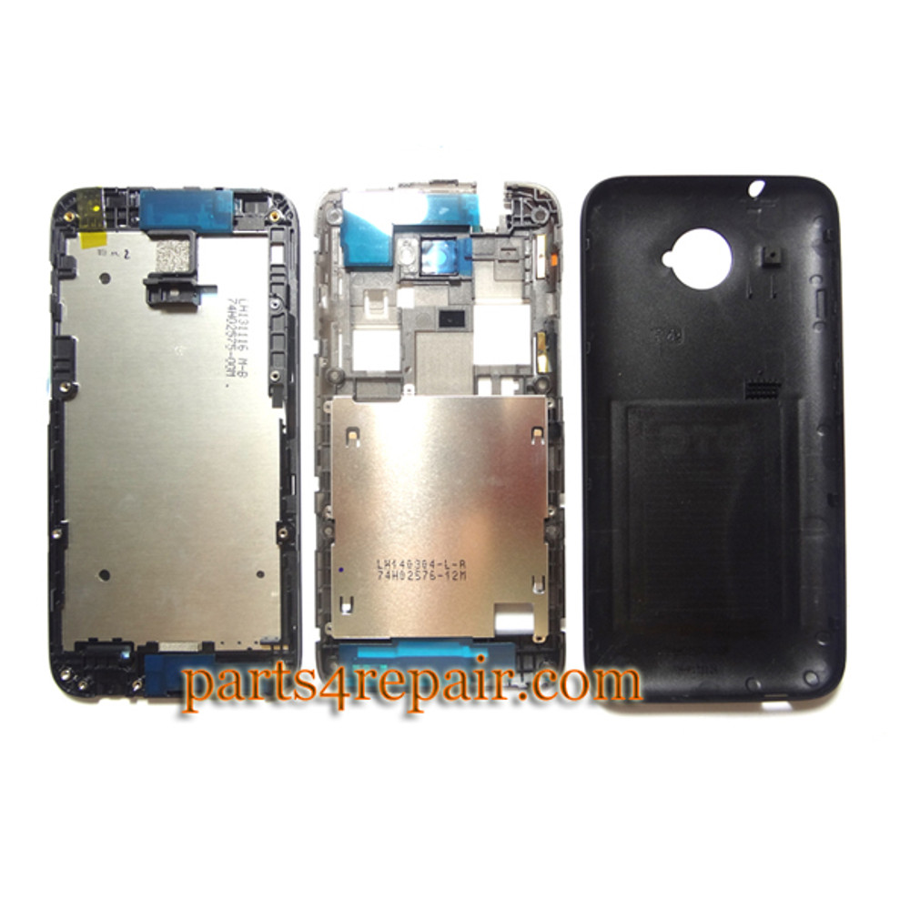 We can offer Full Housing Cover for HTC Desire 601 -Black