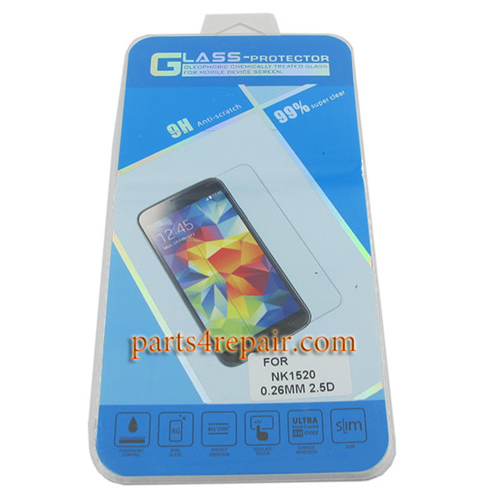 Premium Tempered Glass Screen Protector for Nokia Lumia 1520