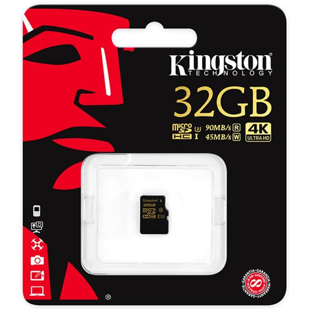 Kingston 32GB Micro SD 90MB/S Class 10 Memory Card TF