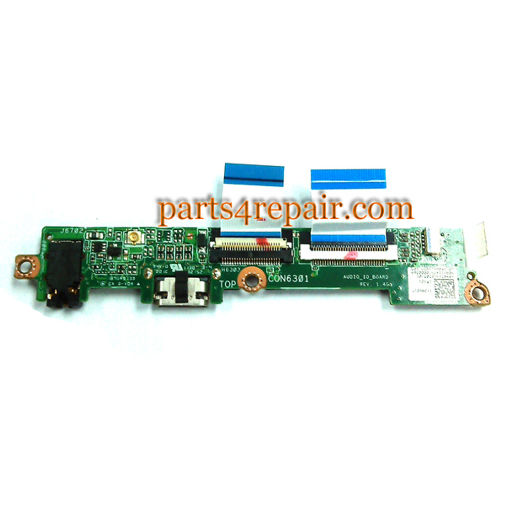 Earphone Jack Board for Asus Transformer TF101 (Used) from www.parts4repair.com