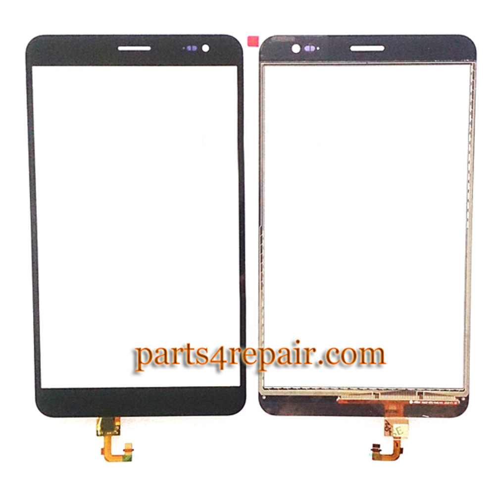 """7"""" Touch Screen Digitizer for Huawei MediaPad X1 -Black from www.parts4repair.com"""