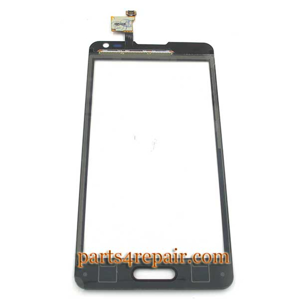 Touch Screen Digitizer for LG Optimus F6 D500 -Black