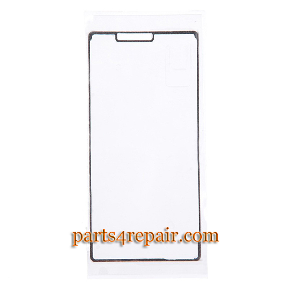 Front Housing Adhesive Sticker for Sony Xperia Z3