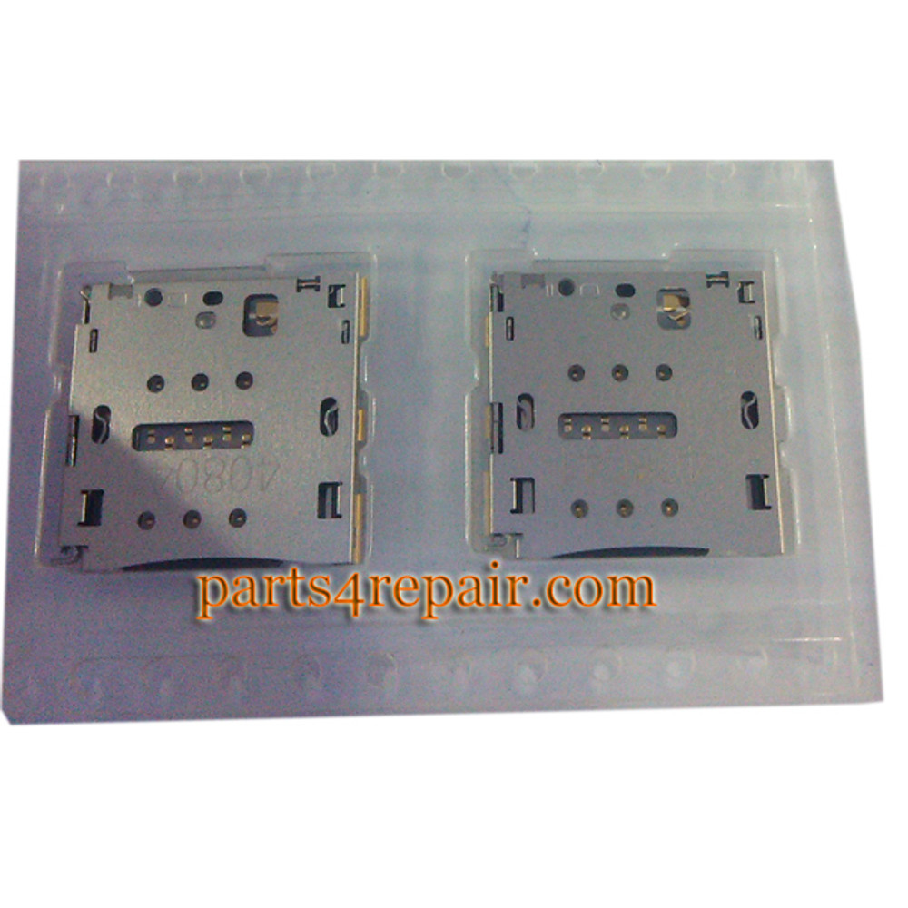 SIM Contact Holder for Huawei Ascend P7 from www.parts4repair.com