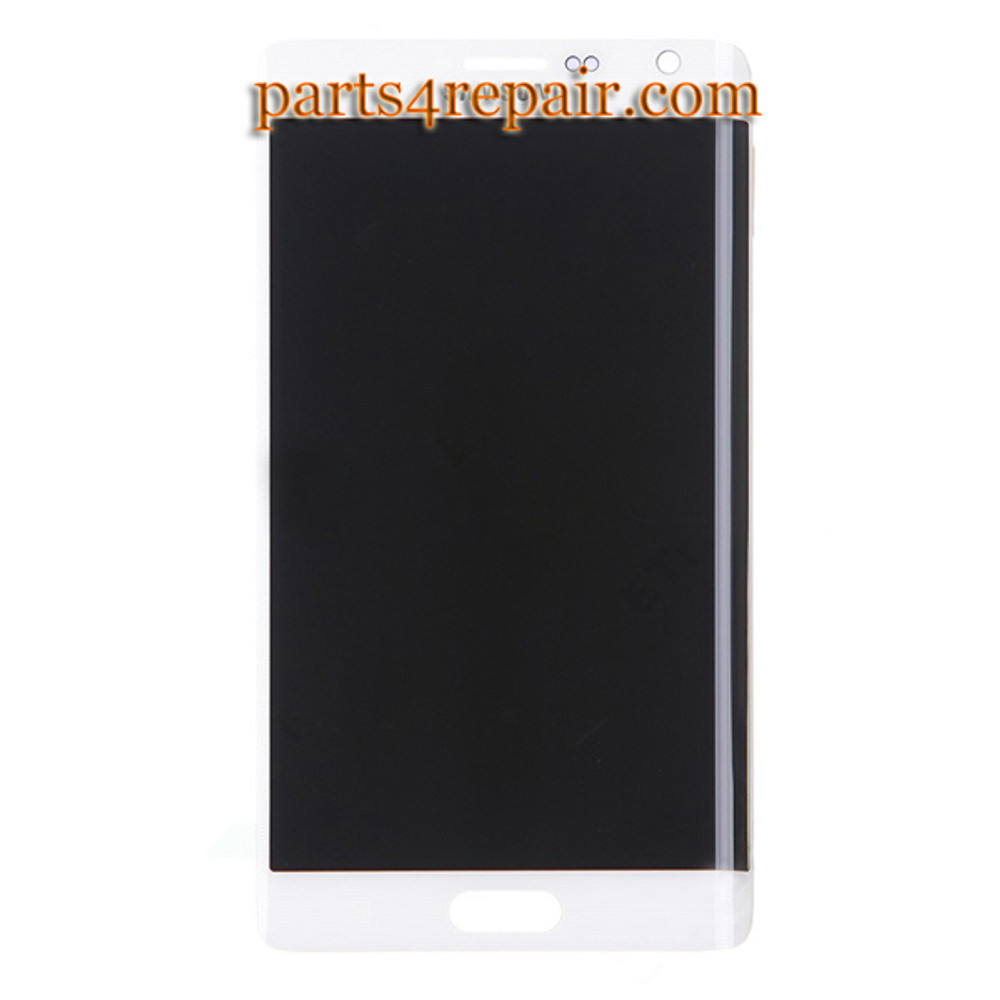 Complete Screen Assembly for Samsung Galaxy Note Edge SM-N915 -White from www.parts4repair.com