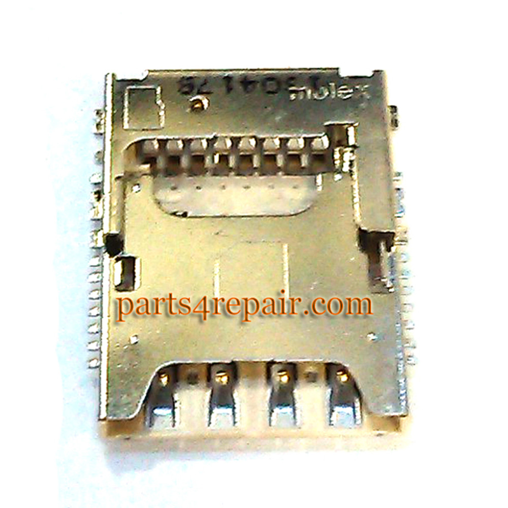SIM Contact Connector for Samsung Galaxy S5 from www.parts4repair.com