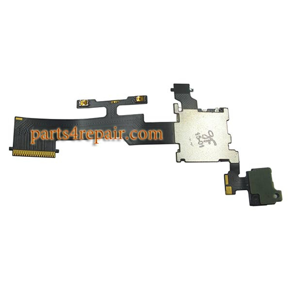 We can offer Micro SD Card Contact Flex Cable for HTC One M8
