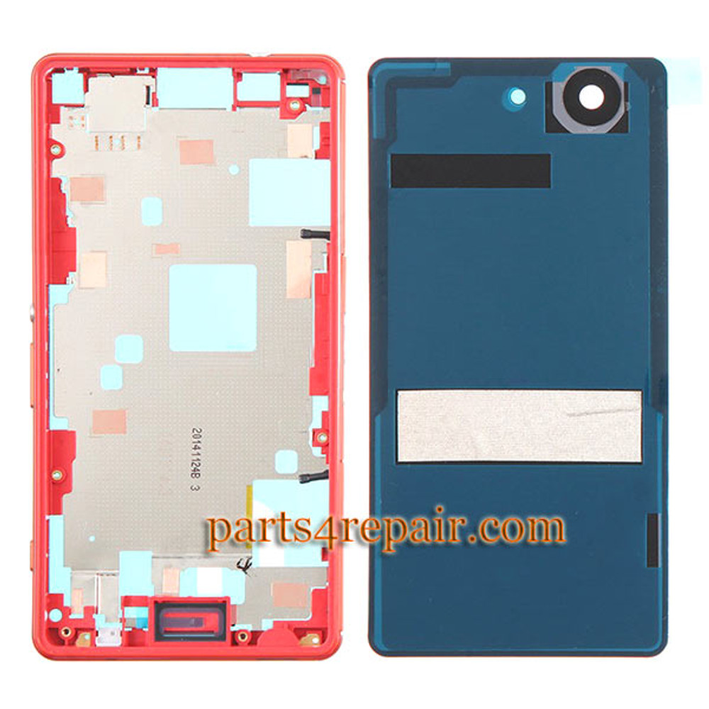 We can offer Full Housing Cover for Sony Xperia Z3 Compact mini -Orange