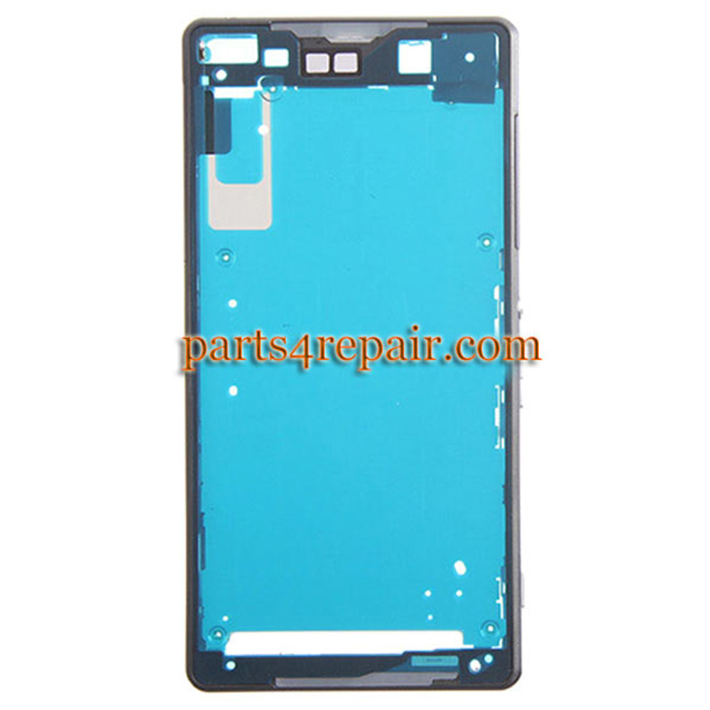 LCD Plate for Sony Xperia Z2 -Black from www.parts4repair.com