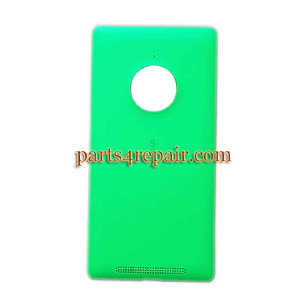 Back Cover with Wireless Charging Coil for Nokia Lumia 830 -Green from www.parts4repair.com