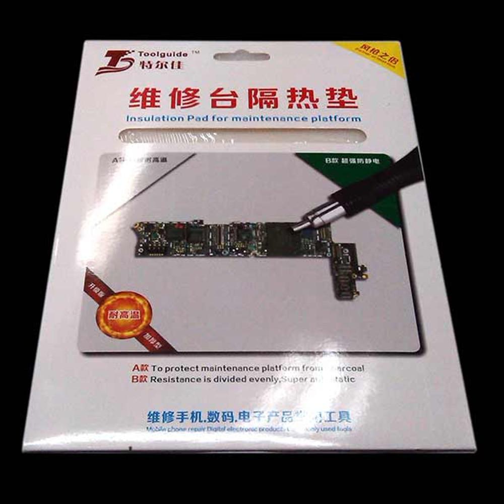 "9"" x 7"" Heat Resistance Insulation Pad for Repair Phone Maintenance Platform"