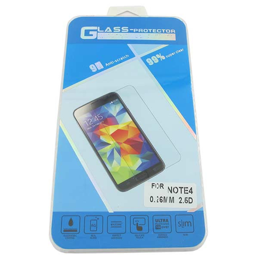 Explosion Proof Premium Tempered Glass Screen for Samsung Galaxy Note 4