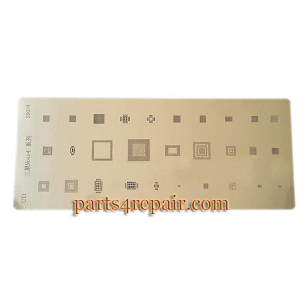 IC BGA Rework Reballing Stencil Template S5034 for Samsung Galaxy Note 4