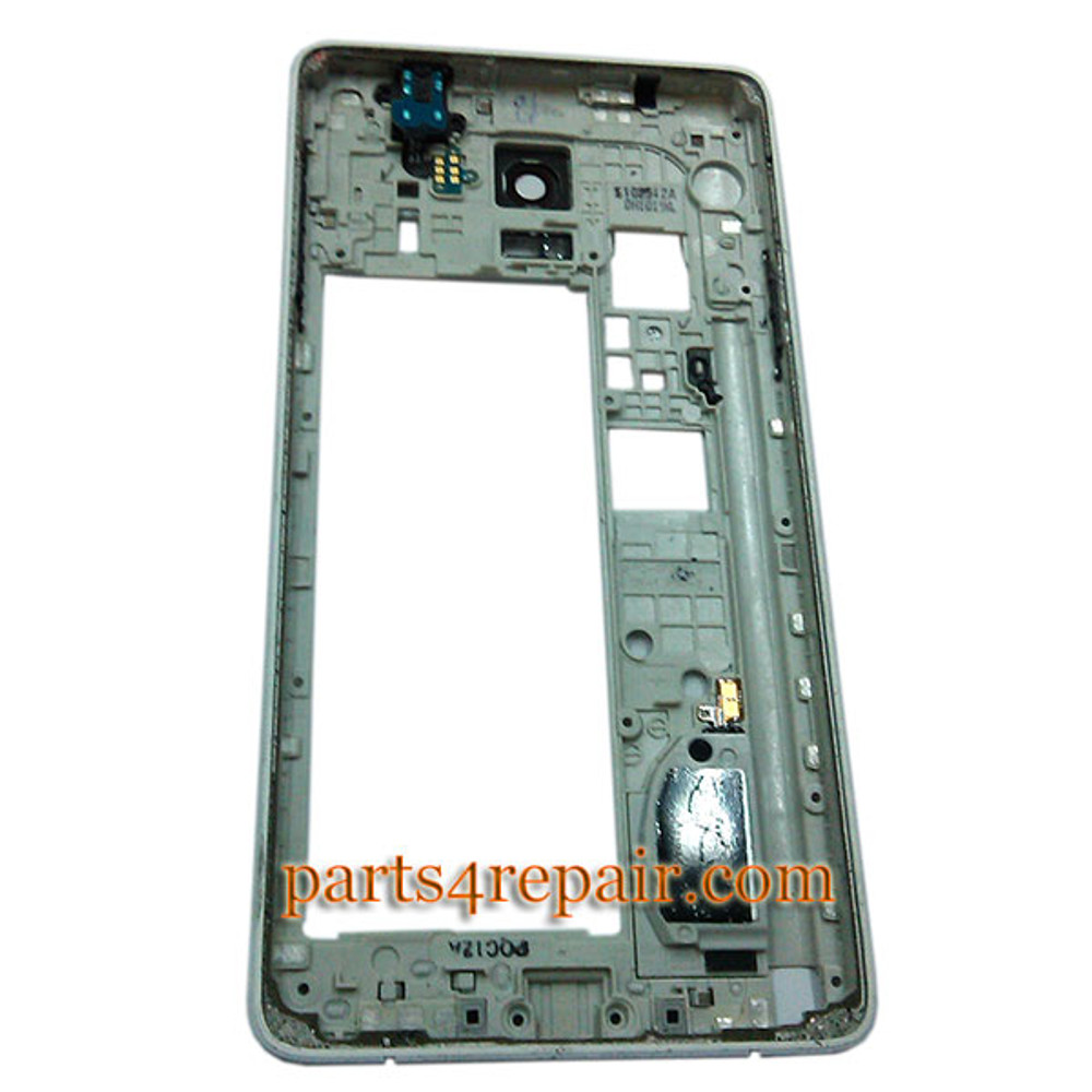 We can offer original Middle Housing Cover with Side Keys for Samsung Galaxy Note 4 N910G -White