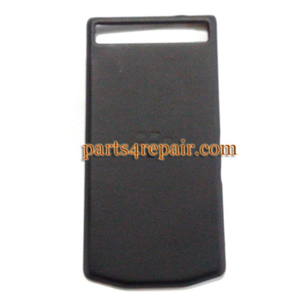 Back Cover for BlackBerry Porsche Design P'9982 -Black from www.parts4repair.com