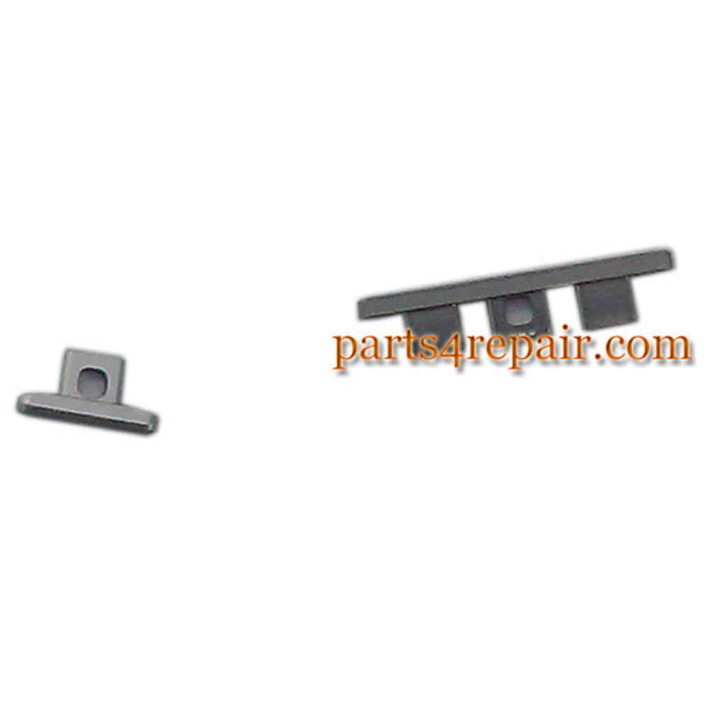 Volume Button & Power Button for Motorola Nexus 6 -Silver from www.parts4repair.com