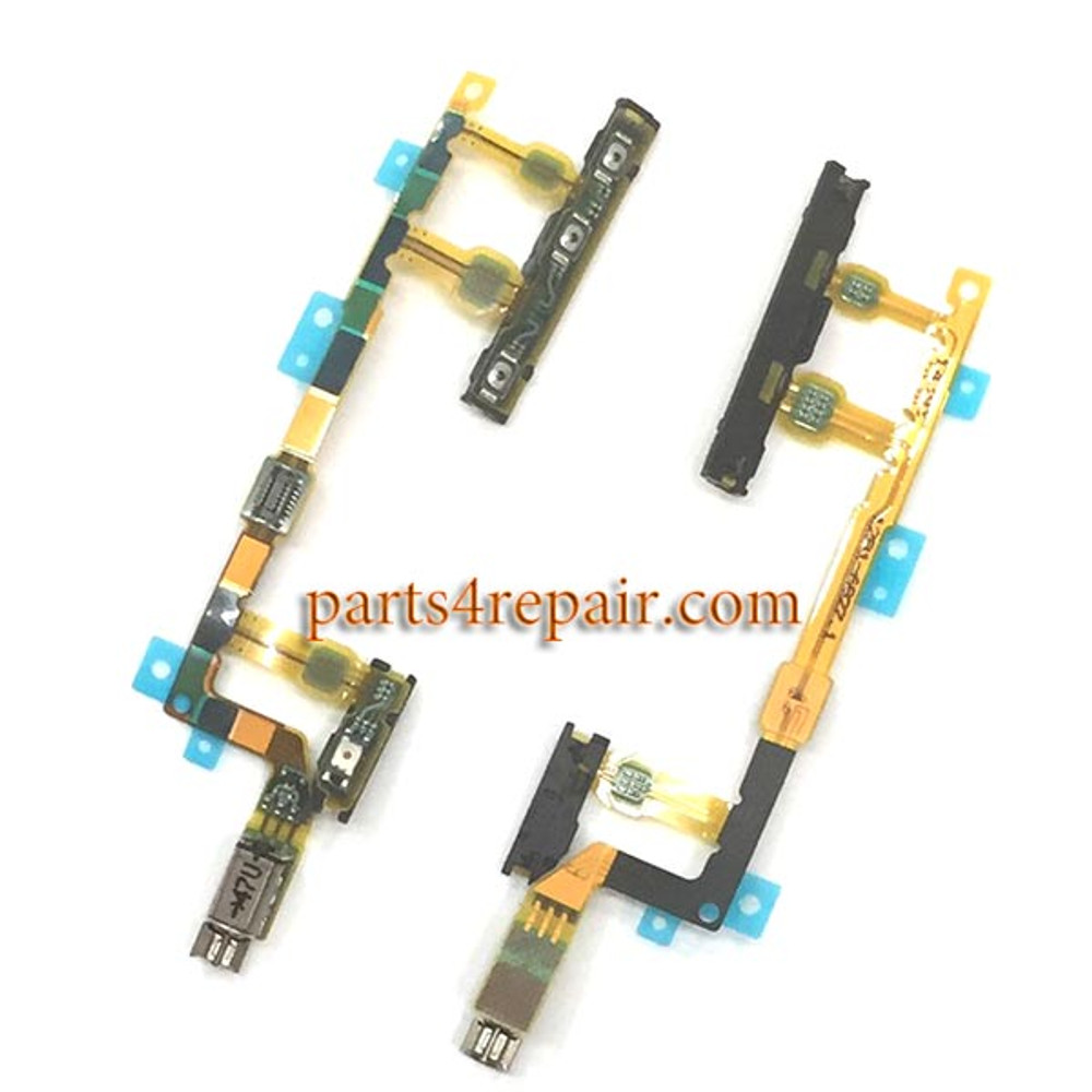 Side Key Flex Cable for Sony Xperia Z3 Compact (Z3 mini) from www.parts4repair.com