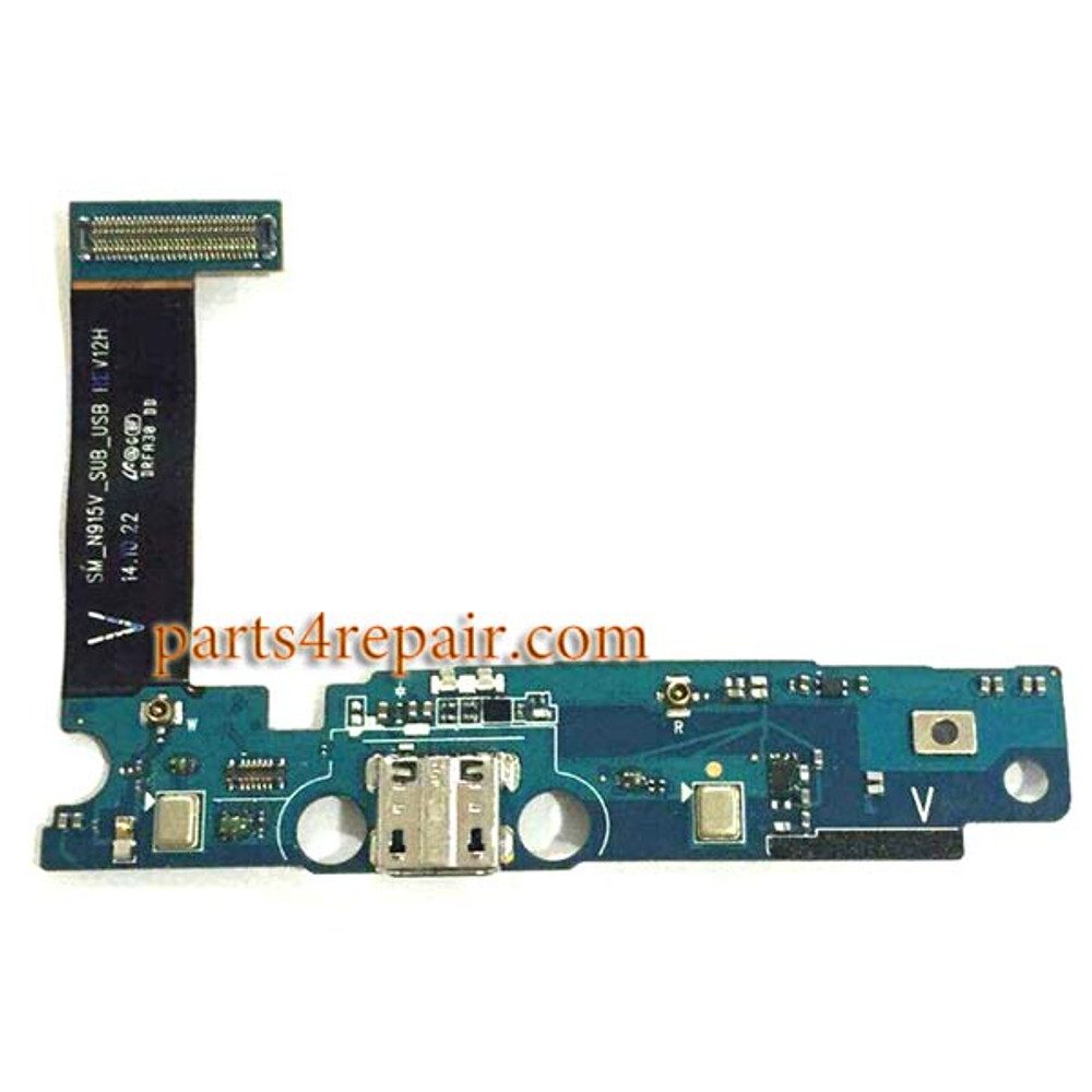 Dock Charging Flex Cable for Samsung Galaxy Note Edge N915V from www.parts4repair.com