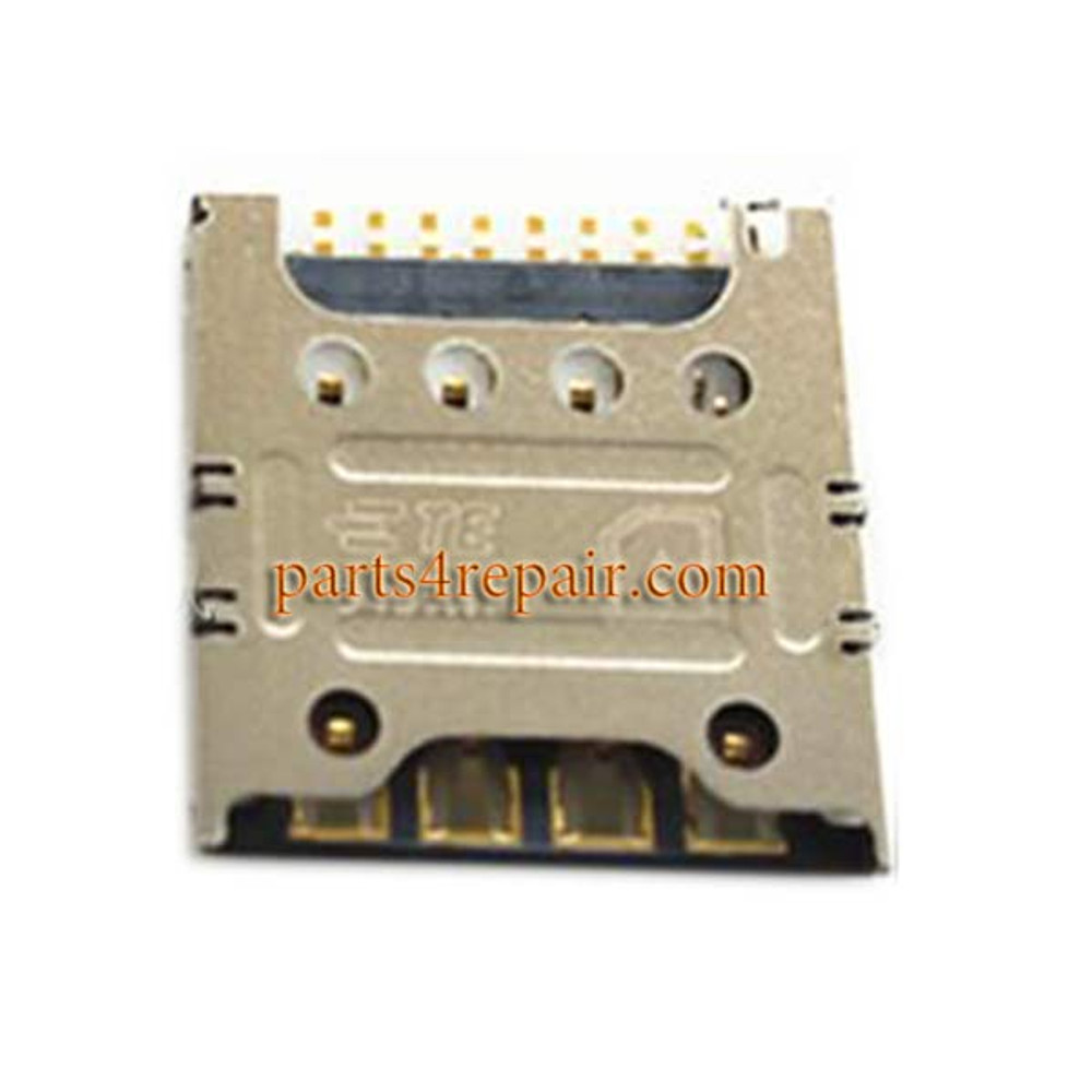 SIM Card Reader for LG G2 F320S/L/K from www.parts4repair.com