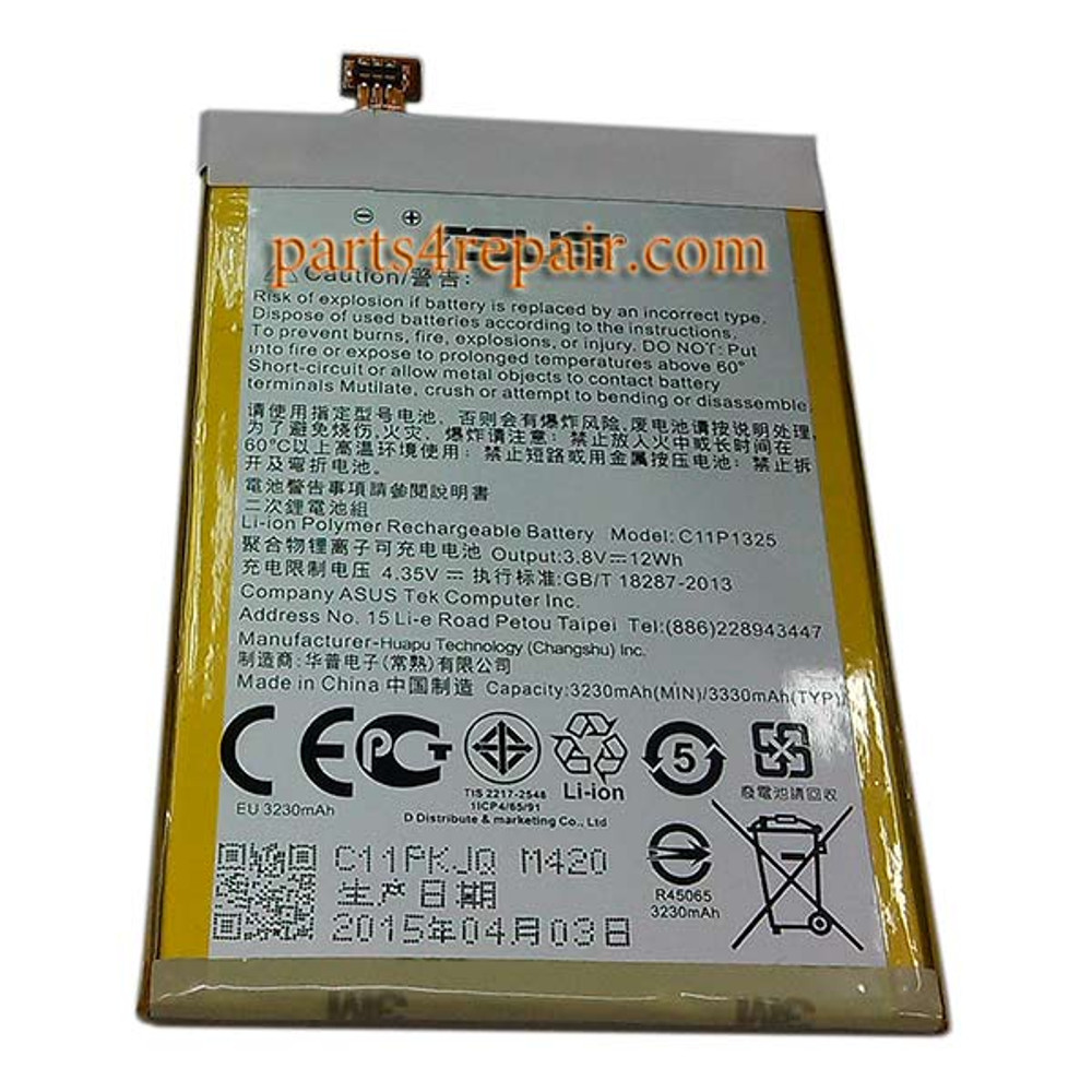 We can offer Asus Zenfone 6 Battery Replacement