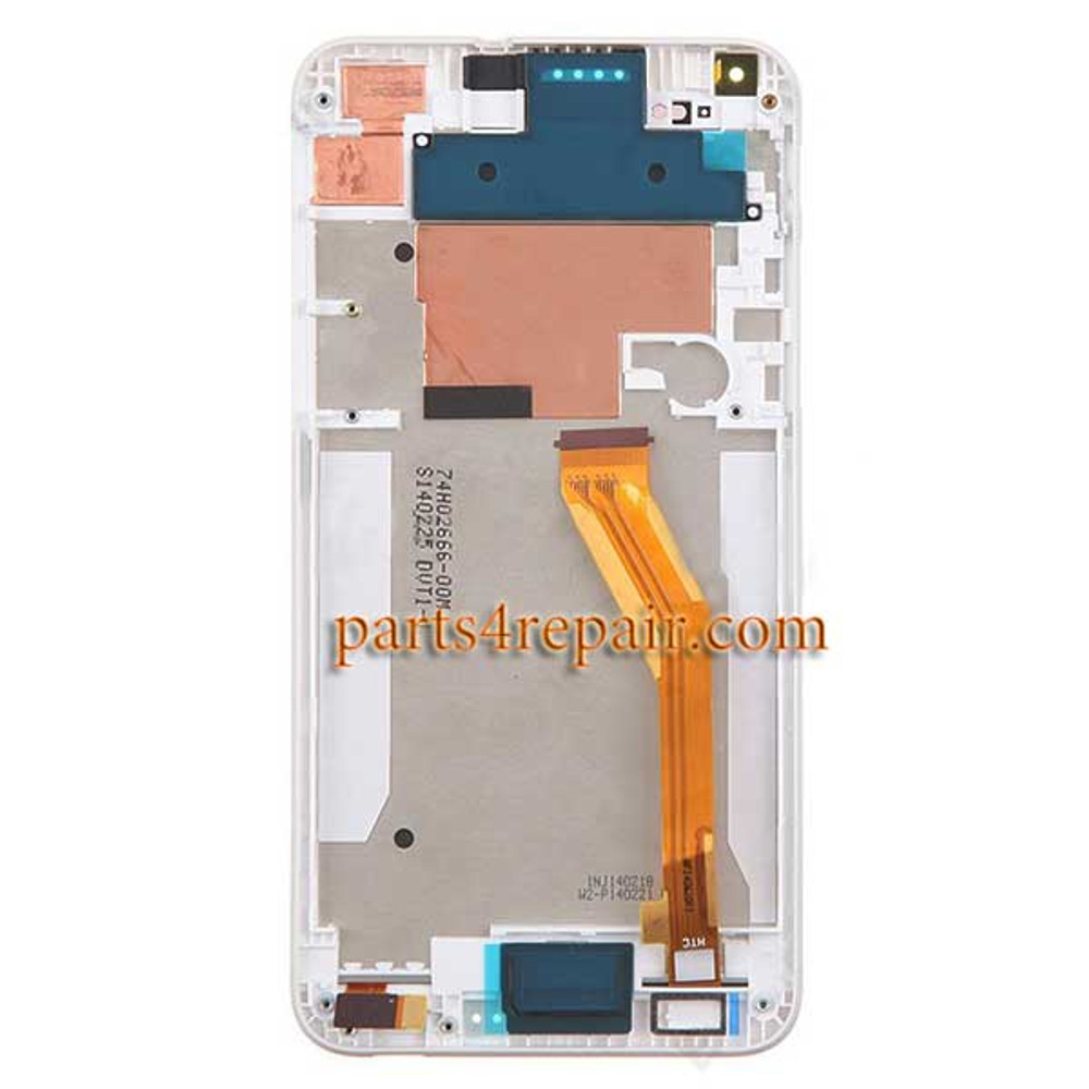 Complete Screen Assembly with Bezel for HTC Desire 816 -White