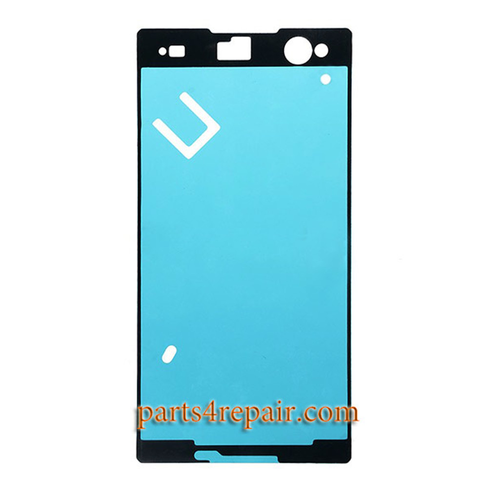 Front Housing Adhesive Sticker for Sony Xperia C3 S55 from www.parts4repair.com