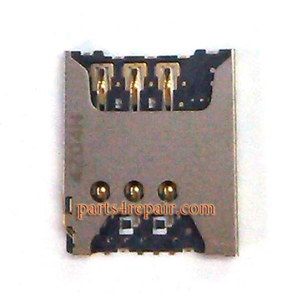 SIM Card Reader for Microsoft Lumia 535 from www.parts4repair.com