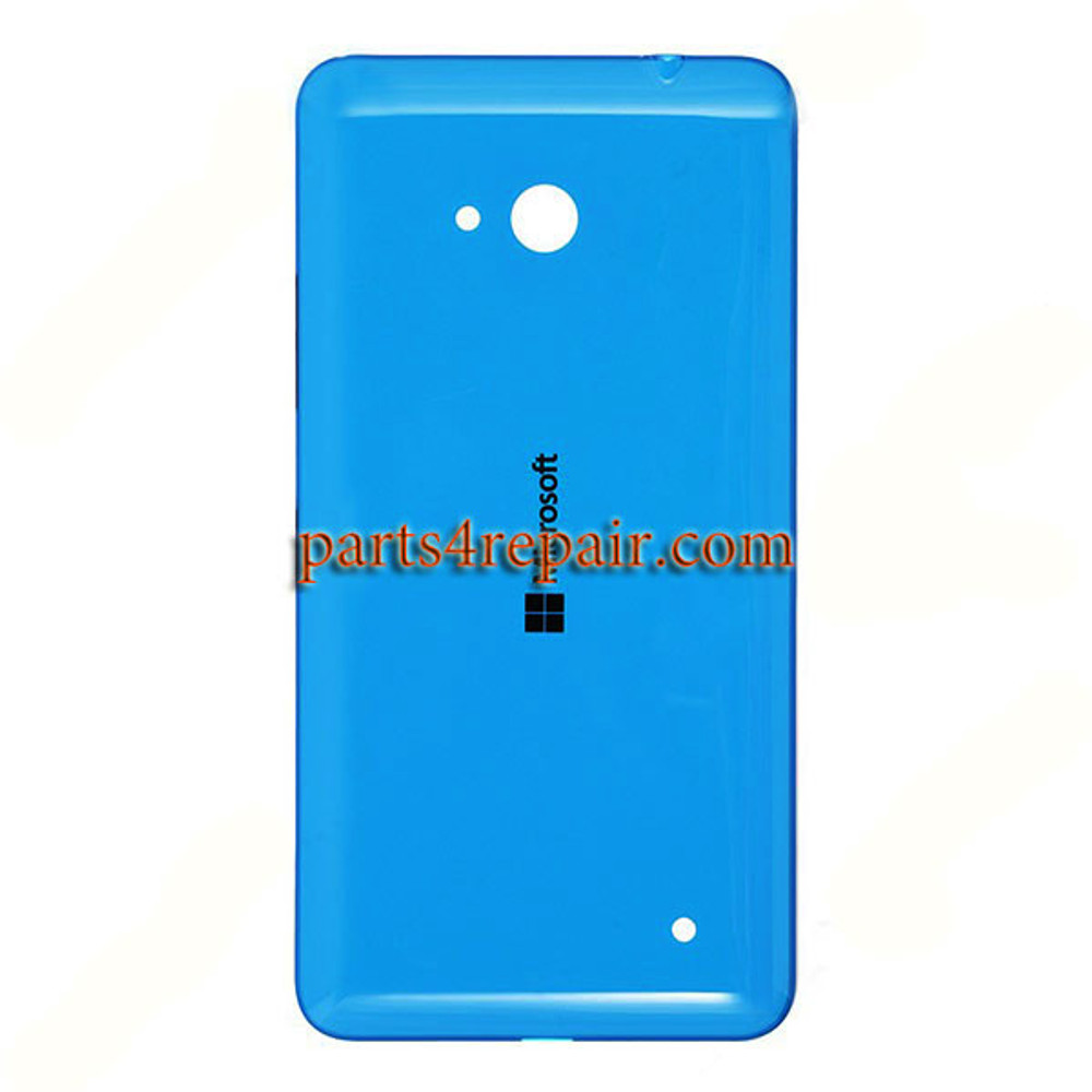 Back Cover with Side Keys for Microsoft Lumia 640 (Glossy Surface) -Blue