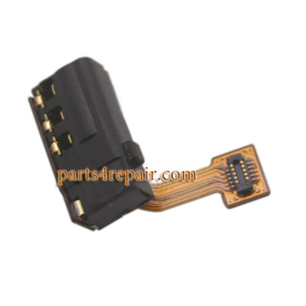 Earphone Jack Flex Cable for Huawei Honor 6 Plus from www.parts4repair.com