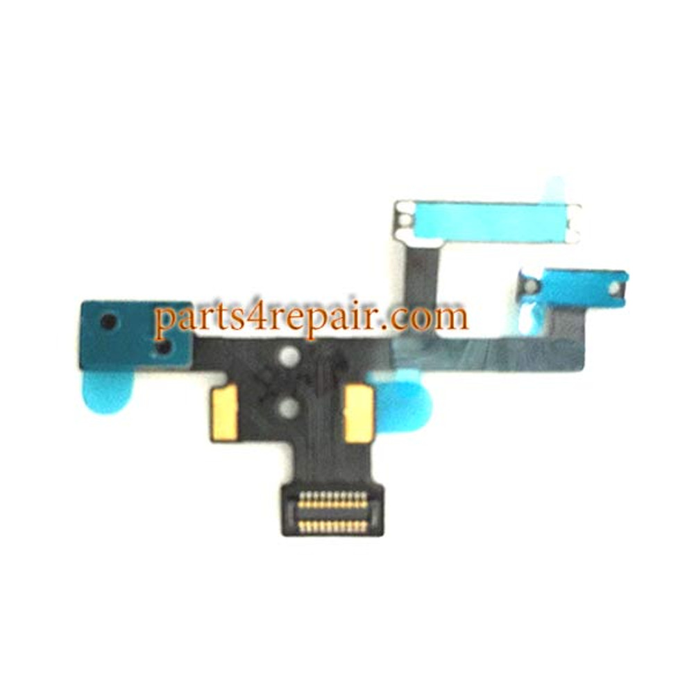 Power Flex Cable with Microphone for Meizu MX4 Pro