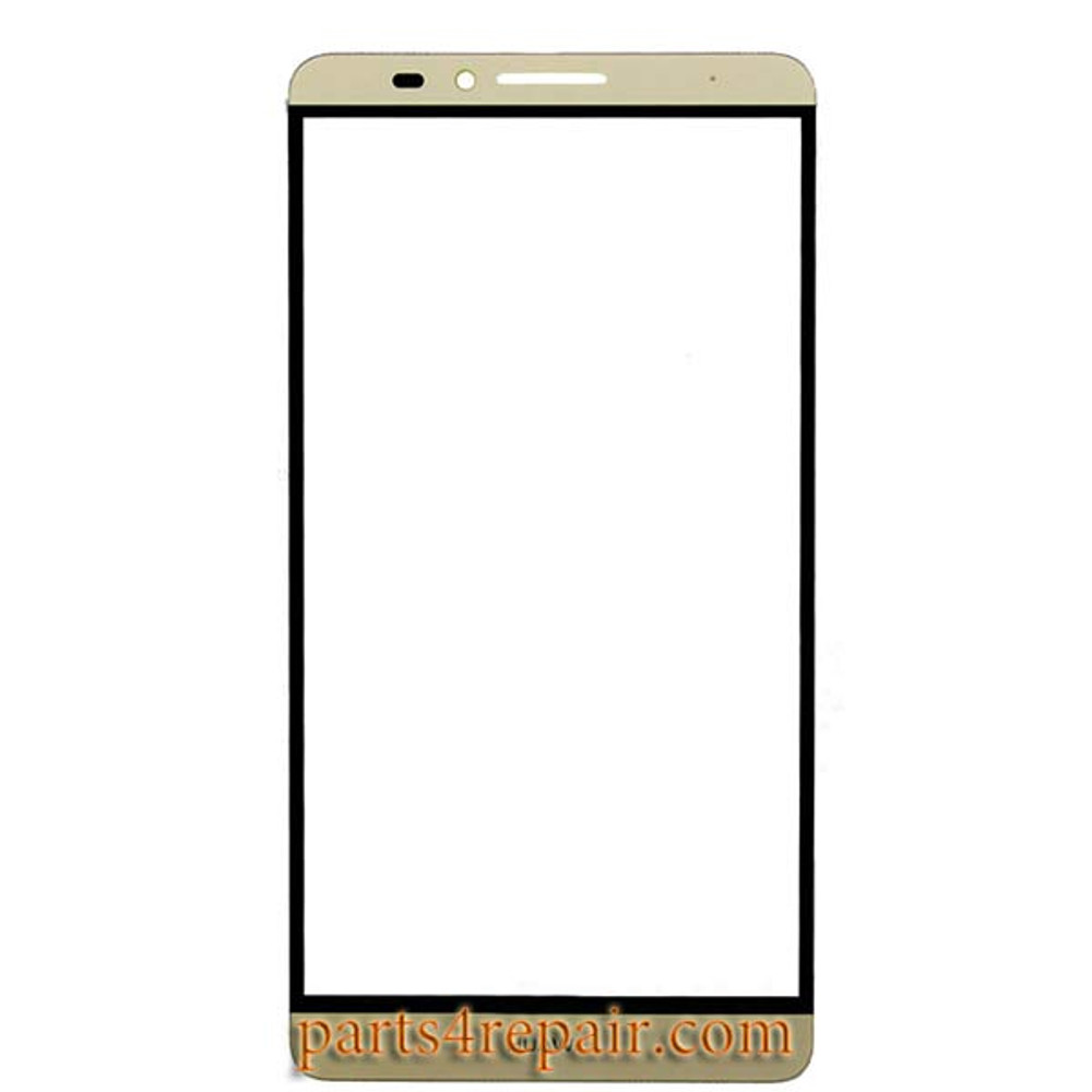 Front Glass OEM for Huawei Ascend Mate7 -Gold