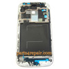 Front Housing Bezel with Blue Home Button for Samsung I9500 Galaxy S4 -Blue