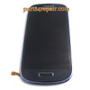 Complete Screen Assembly with Bezel for Samsung I8190 Galaxy S III mini -Blue