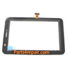 Touch Screen Digitizer for Samsung P6200 Galaxy Tab 7.0 Plus -White