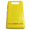 Back Cover for Nokia Lumia 820 -Yellow from www.parts4repair.com
