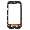 Nokia Lumia 610 Touch Screen with Front Bezel -Black
