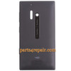 Back Housing Cover for Nokia Lumia 928 -Black from www.parts4repair.com