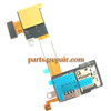 SIM Connector Flex Cable for Sony Xperia M2 S50H from www.parts4repair.com