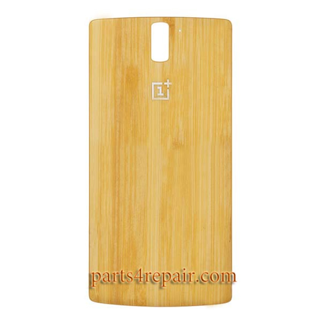 Back Cover for OnePlus One -Bamboo