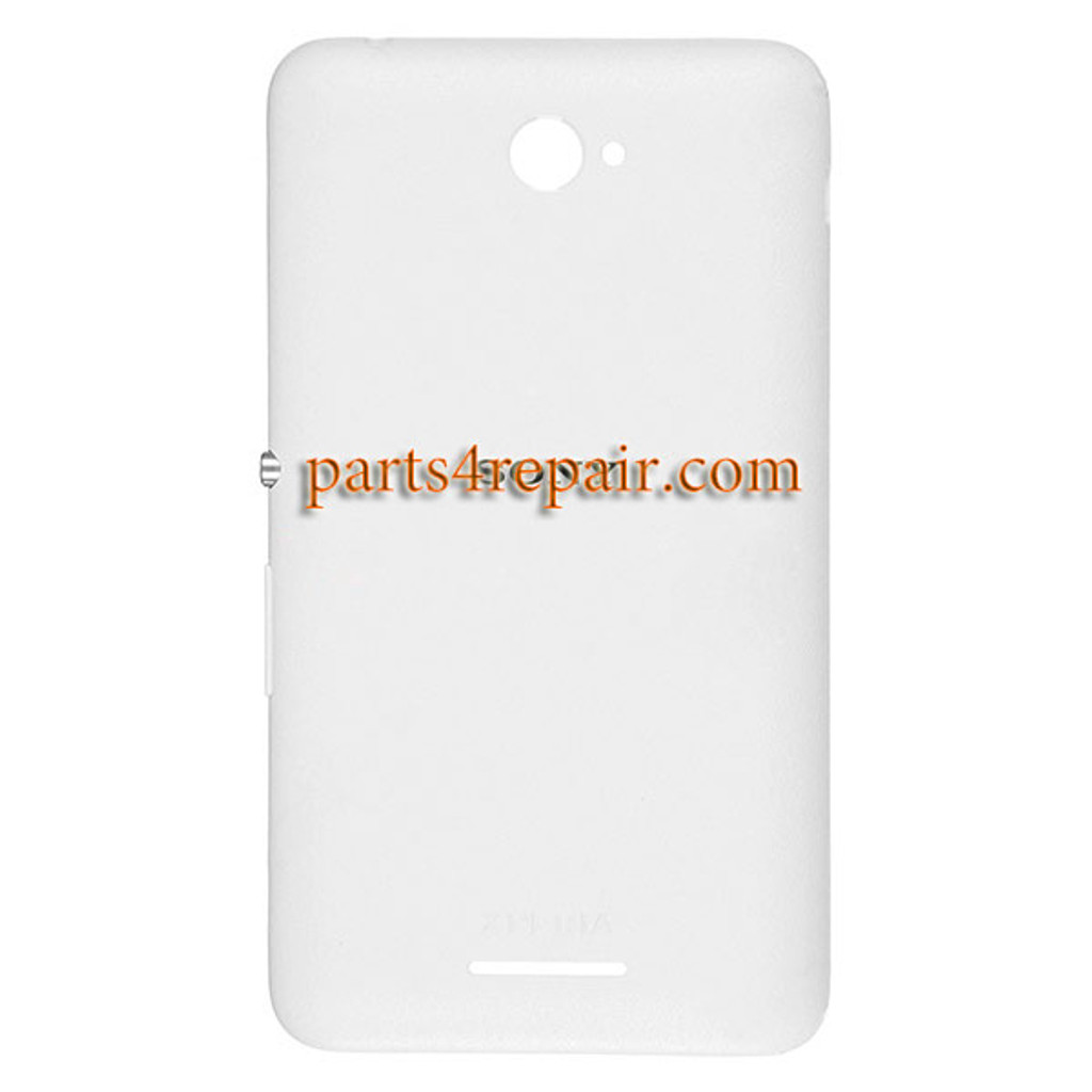 Back Cover with Side Keys for Sony Xperia E4 -White
