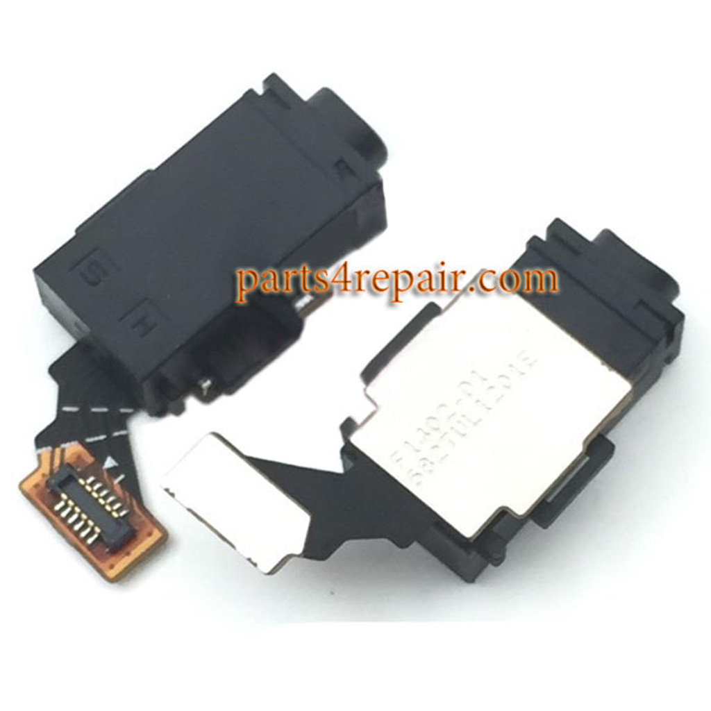 Earphone Connector Flex Cable for Sony Xperia M4 Aqua from www.parts4repair.com