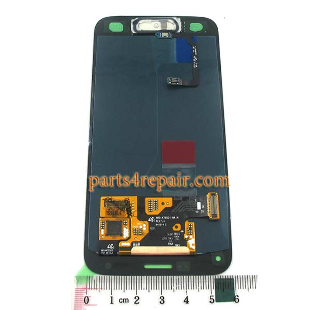 Complete Screen Assembly with Home Button for Samsung Galaxy S5 mini G800F G800H