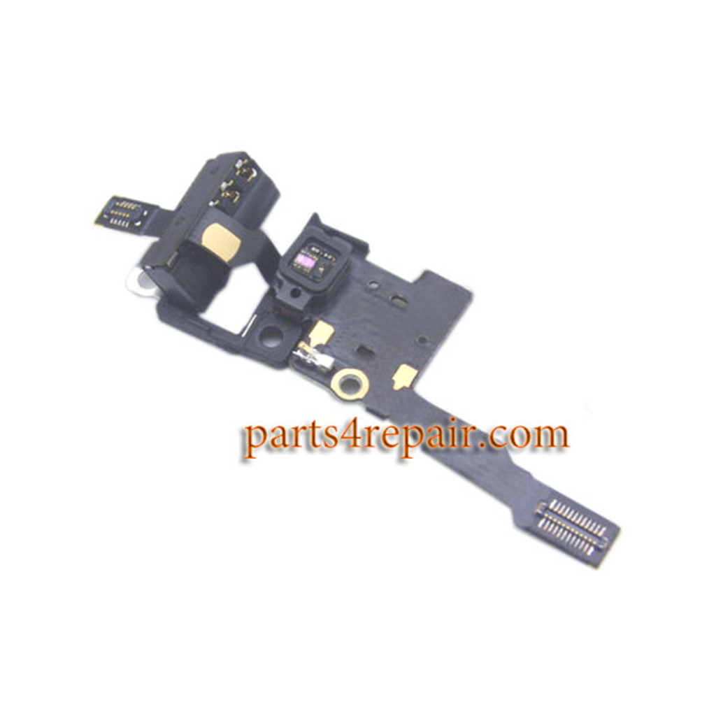Earphone Jack Flex Cable for Huawei P8 from www.parts4repair.com
