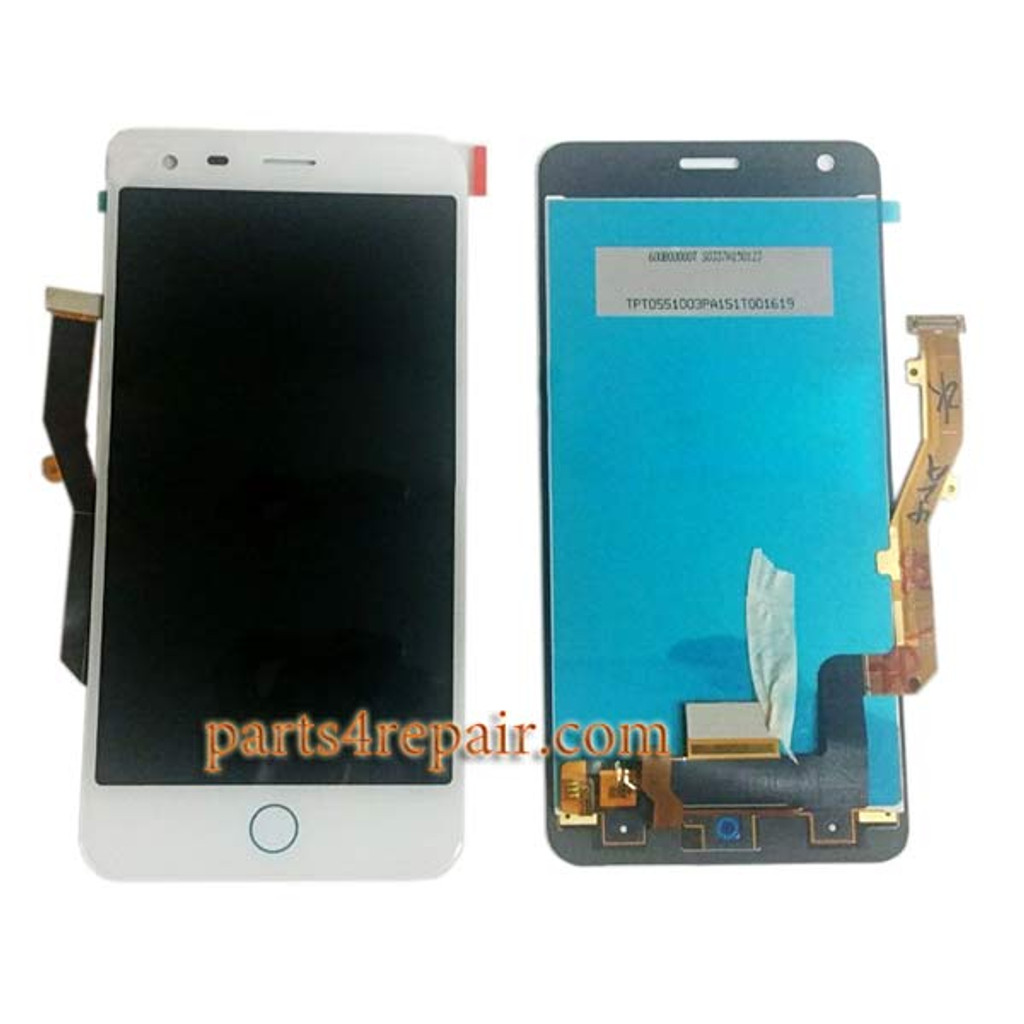 Complete Screen Assembly for ZTE Blade S6 Plus (Q7) from www.parts4repair.com