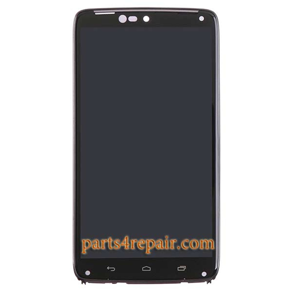 Complete Screen Assembly with Bezel for Motorola Droid Turbo XT1254